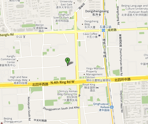 Map of Bo House of 768 Creative Design Park
