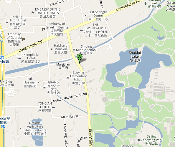 Map of Beijing White Rabbit Live Music Club