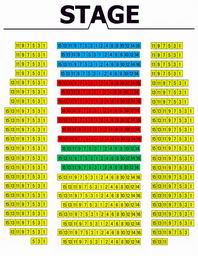 Seating Plan of Beijing Chaoyang Theatre