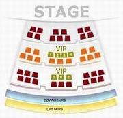 Seating Plan of Beijing Liyuan Theatre