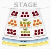 Seating Plan of Beijing Liyuan Theatre
