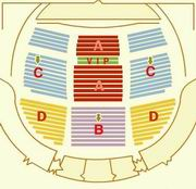 Seating Plan of Beijing OCT Theatre