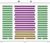 Seating Plan of Beijing Shichahai Theatre