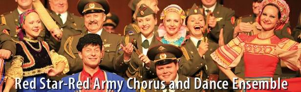 Russian Red Star Red Army Chorus and Dance Ensemble