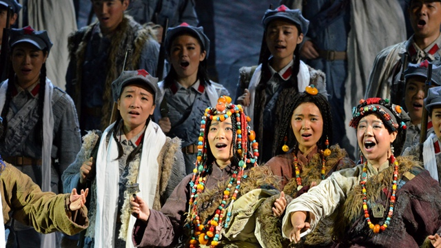 NCPA Commission & Chinese Epic Opera The Long March